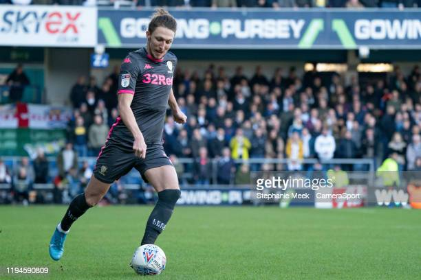 Leeds United's Luke Ayling during the Sky Bet Championship match between Queens Park Rangers and Leeds United at The Kiyan Prince Foundation Stadium...