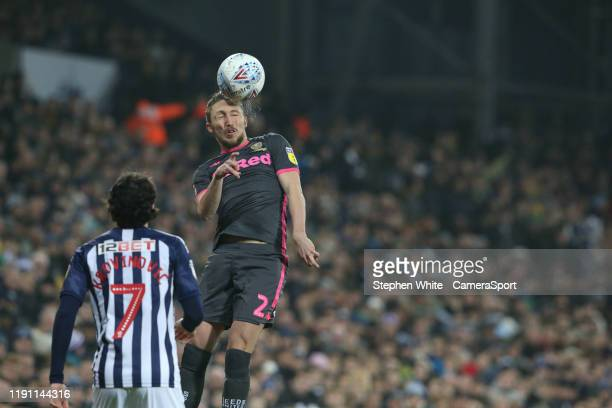 Leeds United's Luke Ayling during the Sky Bet Championship match between West Bromwich Albion and Leeds United at The Hawthorns on January 1 2020 in...