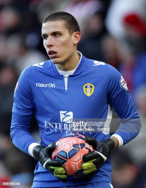 Leeds United's Marco Silvestri