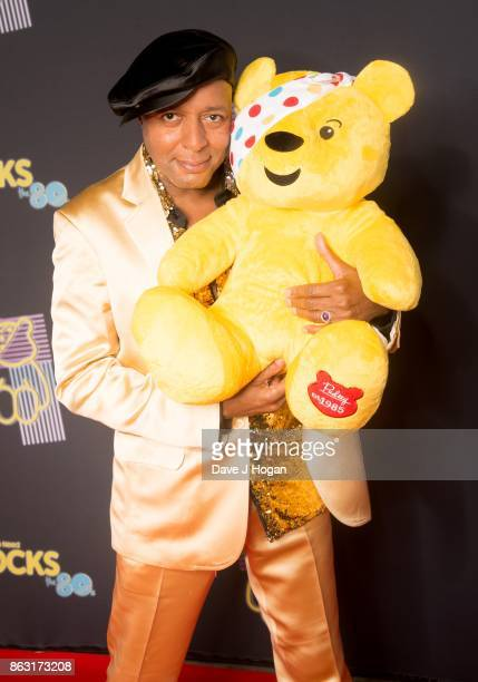 Leee John is pictured at BBC Children in Need Rocks the 80s at SSE Arena on October 19, 2017 in London, England.