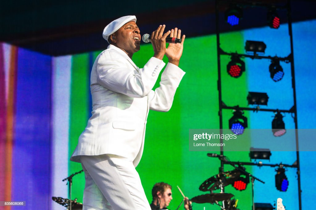 Leee John of Imagination performs at Rewind Festival on August 19, 2017 in Henley-on-Thames, England.