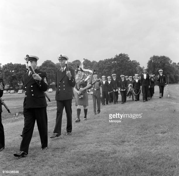 LeeEnfield Rifle No buried with full military honours at Bisley Surrey England by a 26 strong party of Royal Navy Officers and Men Thursday 7th July...