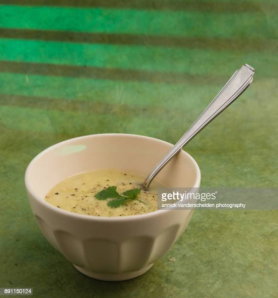 Leek and potato soup.