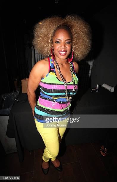 Leela James attends the Highline Ballroom on July 18 2012 in New York City