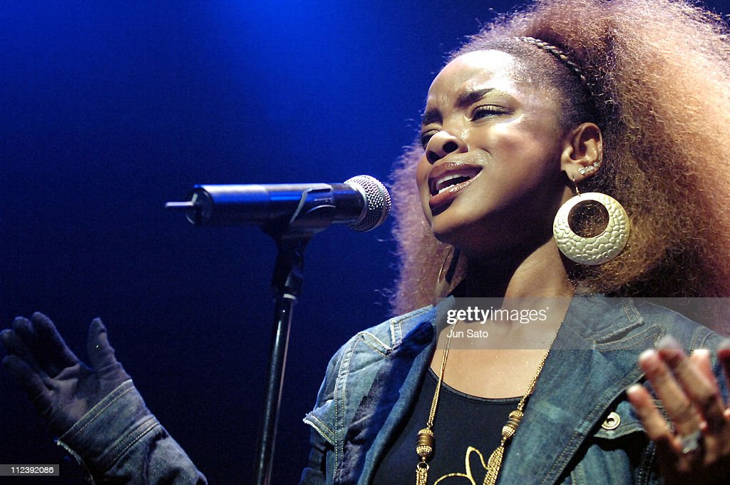 """Leela James """"A Change Is Gonna Come"""" Tour at Shibuya O-East in Tokyo - April"""