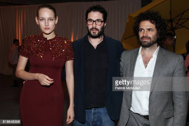 Leelee Sobieski Adam Kimmel and Gavin Brown attend New Museum Spring Gala and After Party Sponsored by Interview Magazine Melissa Shoes and Prairie...