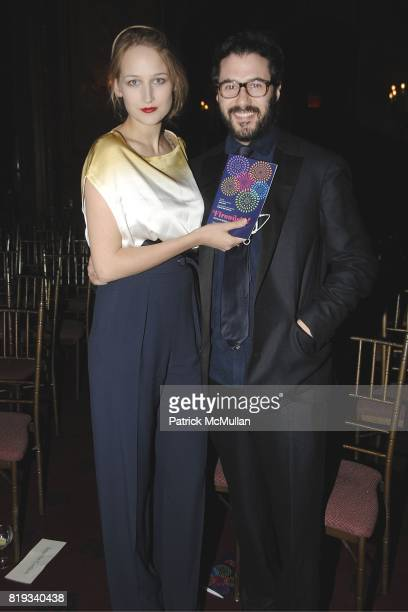 Leelee Sobieski and Adam Kimmel attend Glimmerglass Opera Spring Gala to Benefit the Young American Artists Program at The Metropolitan Club on April...