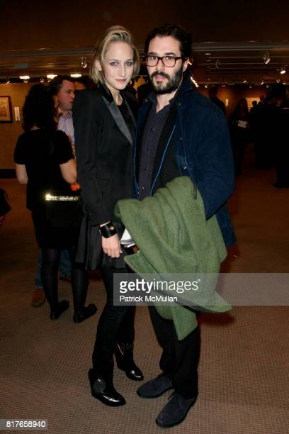 Leelee Sobieski and Adam Kimmel attend The 8th Annual TIBET HOUSE US Benefit Auction at Christie's Auction House on December 3 2010 in New York City