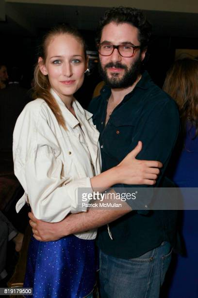 Leelee Sobieski and Adam Kimmel attend THE ENDANGERED SPECIES COALITION Fundraiser For The Gulf Pelicans at The Wooly on July 28 2010 in New York City