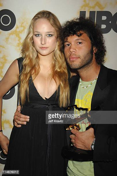 Leelee Sobieski and Frank E Flowers during 2006 TNT Black Movie Awards HBO After Party in Los Angeles California United States