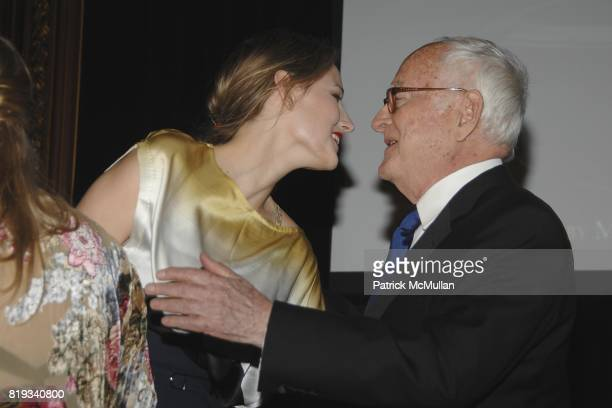 Leelee Sobieski and James Ivory attend Glimmerglass Opera Spring Gala to Benefit the Young American Artists Program at The Metropolitan Club on April...