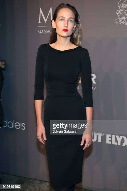 Leelee Sobieski attends 2018 amfAR Gala New York Arrivals at Cipriani Wall Street on February 7 2018 in New York City