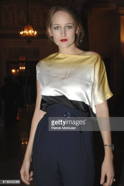 Leelee Sobieski attends Glimmerglass Opera Spring Gala to Benefit the Young American Artists Program at The Metropolitan Club on April 27 2010 in New...