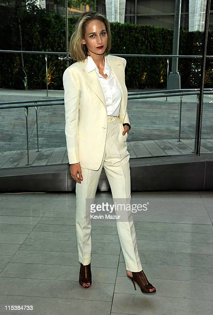Leelee Sobieski attends the 2011 CFDA Fashion Awards at Alice Tully Hall Lincoln Center on June 6 2011 in New York City