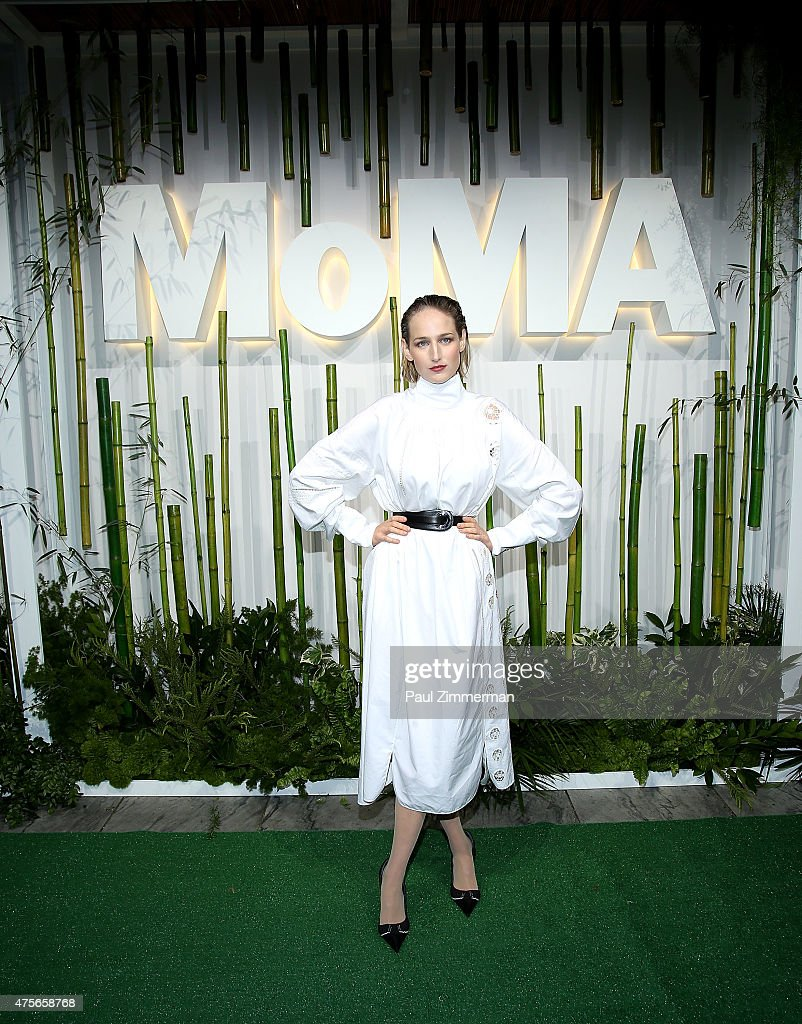 Leelee Sobieski attends the 2015 Museum of Modern Art Party In The Garden and special salute to David Rockefeller on his 100th Birthday at Museum of Modern Art on June 2, 2015 in New York City.
