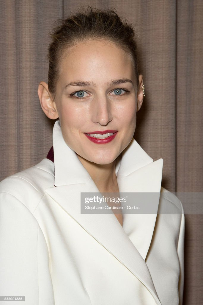 Leelee Sobieski attends the Sidaction Gala Dinner at Pavillon d'Armenonville, in Paris.