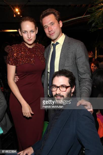Leelee Sobieski Christopher Bollen and Adam Kimmel attend New Museum Spring Gala and After Party Sponsored by Interview Magazine Melissa Shoes and...