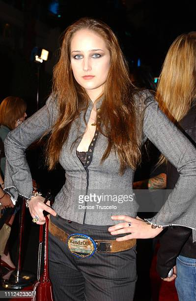 Leelee Sobieski during Hard Rock Hotel and Casino 10th Anniversary Weekend Bon Jovi in Concert Red Carpet Arrivals at The Hard Rock Hotel and Casino...