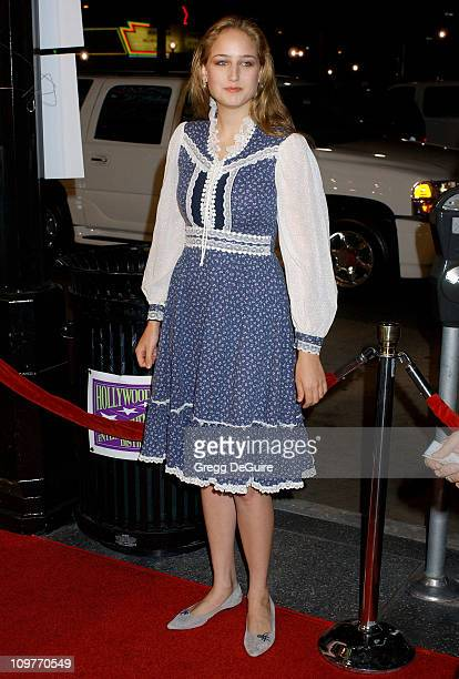 Leelee Sobieski during 'I Walk the Line A Night for Johnny Cash' Day 2 Arrivals at Pantages Theatre in Hollywood California United States