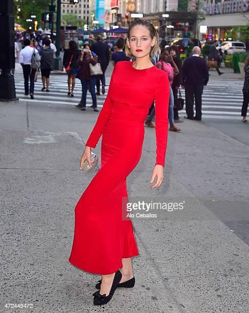 Leelee Sobieski is seen on May 7 2015 in New York City