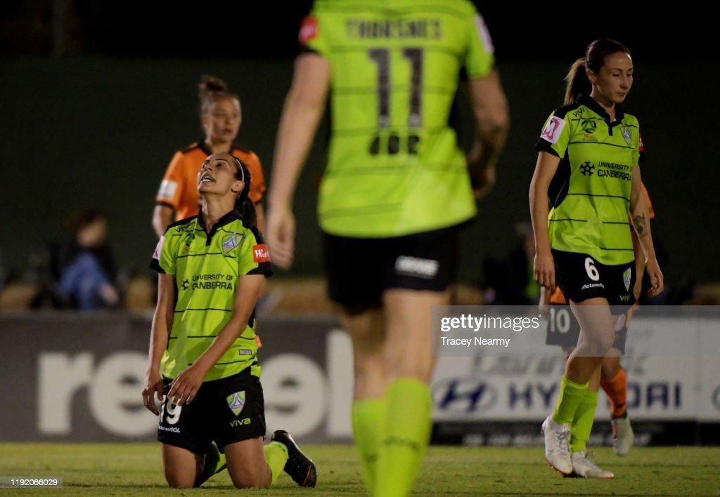 W-League Rd 4 - Canberra v Brisbane : News Photo