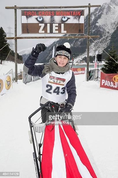 LeeOscar Kirchberger attends the Sledge Dog Race Tirol Cross Mountain 2013 on December 07 2013 in Innsbruck Austria