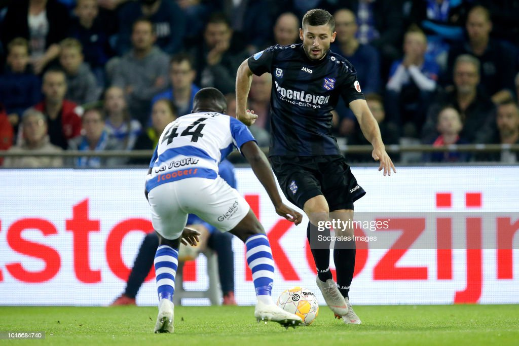 Leeroy Owusu Of De Graafschap, Arber Zeneli Of SC