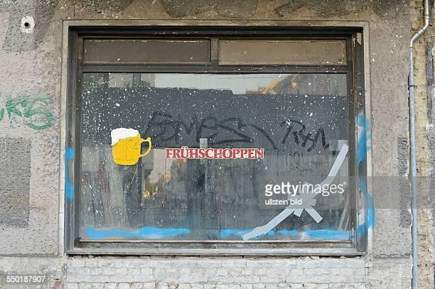 Leerstehende Kneipe in der Schönhauser Allee in BerlinPankow