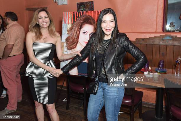 Leesa Rowland and Jane Scher attend Metropolitan Magazine and 25A Magazine Host April 2017 Cover Star Jean Shafiroff at Selena Rosa Mexicana on May 2...
