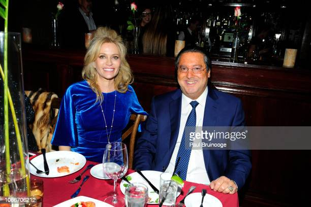Leesa Rowland and Larry Wohl attend Cheri Kaufman's Birthday at Kaufman Astoria Studios on November 29 2018 in the Queens borough of New York City