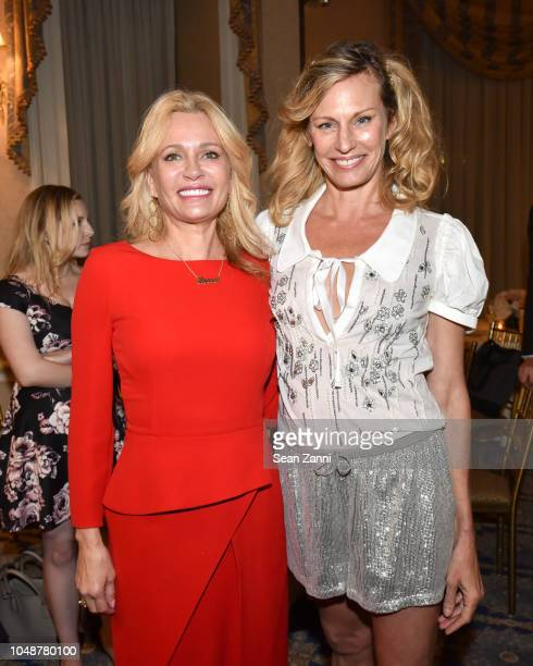 Leesa Rowland and Missy Hargraves attend Rescue Dogs Rock NYC Inaugural Benefit 2018 at The Harmonie Club on October 9 2018 in New York City
