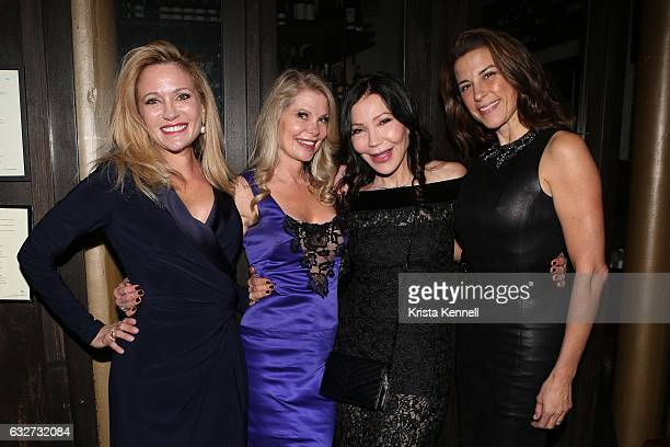 Leesa Rowland Cindy Guyer Jane Scher and Dale Noelle attend 25A and Metropolitan Magazine Cover Stars Dr Christopher Calapai Dale Noelle Leesa...
