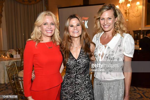 Leesa Rowland Stacey Silverstein and Missy Hargraves attend Rescue Dogs Rock NYC Inaugural Benefit 2018 at The Harmonie Club on October 9 2018 in New...