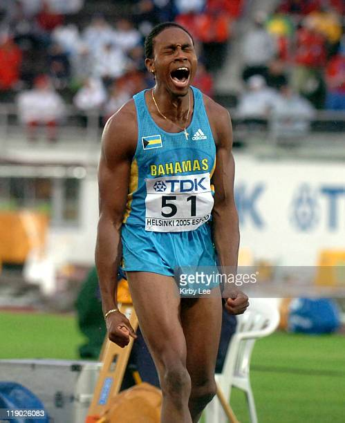 Leevan Sands of The Bahamas was fourth in the triple jump with a windaided 570 3/4 in the IAAF World Championships in Athletics on Thursday August 11...