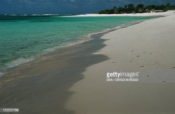 Leeward Islands Virgin Islands Anegada Island beach