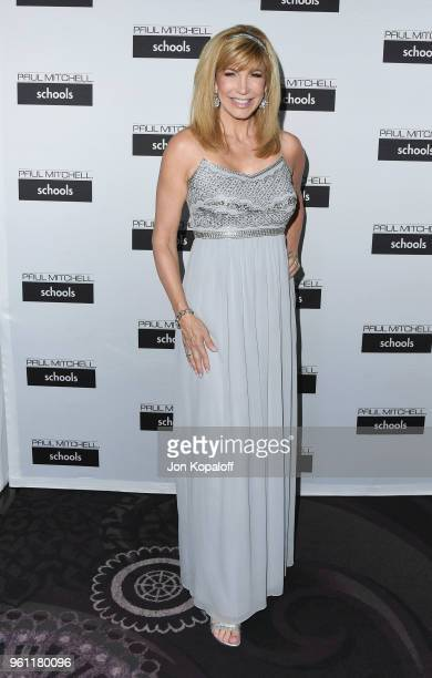 Leeza Gibbons attends Paul Mitchell School's 15th Annual FUNraising Gala at The Beverly Hilton Hotel on May 21 2018 in Beverly Hills California