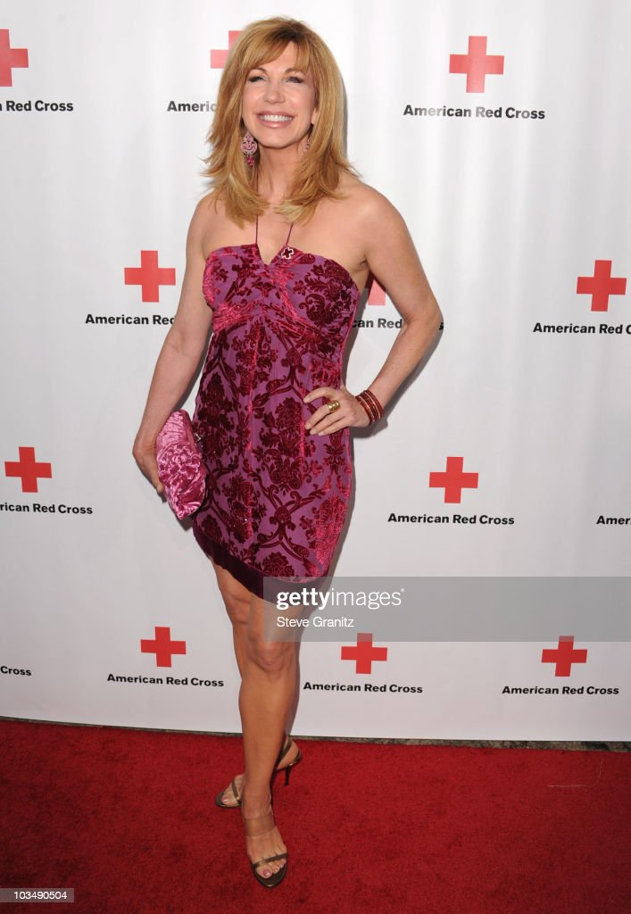Leeza Gibbons attends The American Red Cross Red Tie Affair Fundraiser Gala at Fairmont Miramar Hotel on April 17, 2010 in Santa Monica, California.