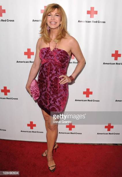 Leeza Gibbons attends The American Red Cross Red Tie Affair Fundraiser Gala at Fairmont Miramar Hotel on April 17 2010 in Santa Monica California
