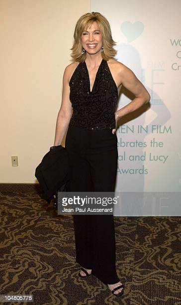 Leeza Gibbons during 2002 Women In Film Crystal Lucy Awards at Century Plaza Hotel in Century City California United States