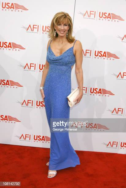 Leeza Gibbons during 31st AFI Life Achievement Award Presented to Robert DeNiro Red Carpet at Kodak Theatre in Hollywood California United States