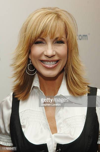 Leeza Gibbons during Celebrities Unveil AOL's Entertainment Programming Slate for 20072008 April 17 2007 at Time Warner Center Jazz at Lincoln Center...