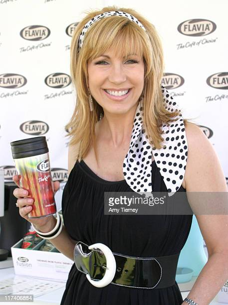 Leeza Gibbons during FLAVIA at 2006 Silver Spoon Emmy Suite Day 2 at Wattles Mansion in Los Angeles California United States