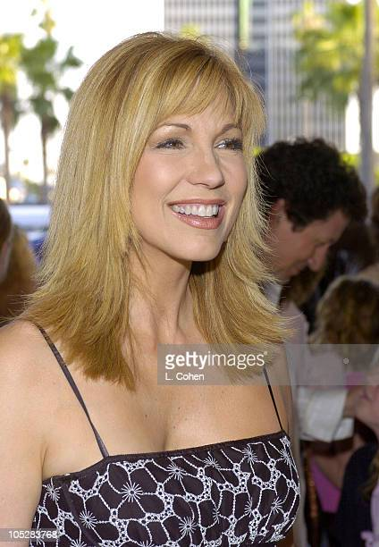 Leeza Gibbons during Mamma Mia Los Angeles Premiere Red Carpet at Pantages Theatre in Hollywood California United States