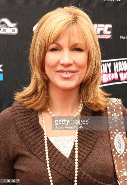Leeza Gibbons during Stand Up For Skateparks Benefiting the Tony Hawk Foundation at Green Acres Estate in Beverly Hills California United States
