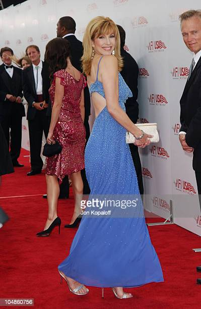 Leeza Gibbons during The 31st AFI Life Achievement Award Presented to Robert DeNiro at Kodak Theatre in Hollywood California United States