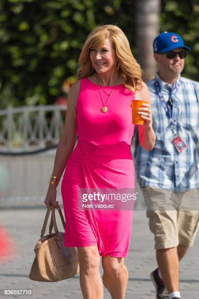 Leeza Gibbons visits Extra at Universal Studios Hollywood on August 21 2017 in Universal City California