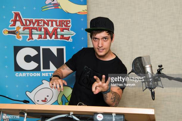 LeFloid attends the 'Adventure Time' dubbing Session on June 29 2017 in Berlin Germany