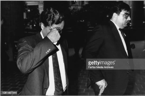 Ashad Javes Sheikh from Pakistan International Airways entering the humans rights commission for a hearing involving an alleged sexual harassment...