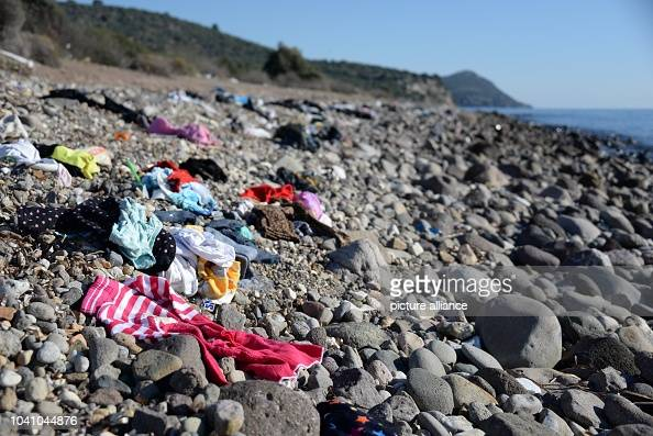 Left Behind Clothes Lie On A Pebble Beach In Os Turkey 5 News Photo Getty Images