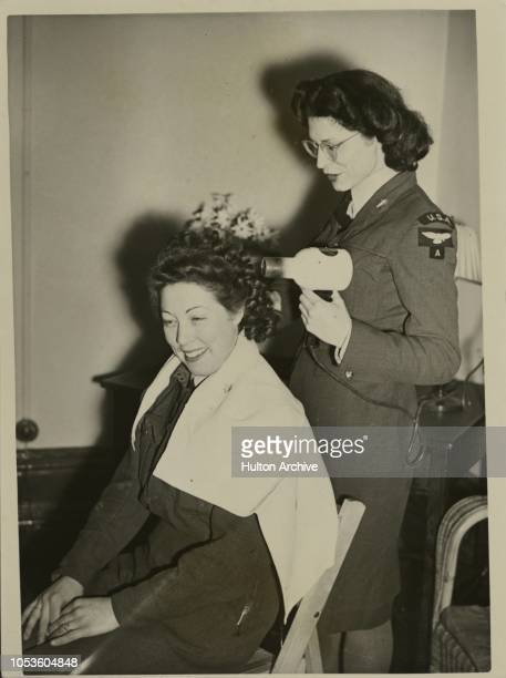 Left California to Join the WAAF 's ACW Mary Chamberlain from Long Beach California USA joined the WAAF 's as a Nursing Orderly She helps her fellow...